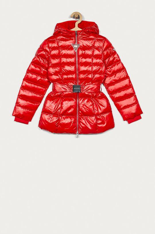 červená Guess Jeans - Dětská péřová bunda 116-176 cm Dívčí