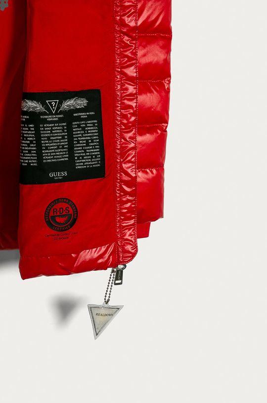 červená Guess Jeans - Dětská péřová bunda 116-176 cm