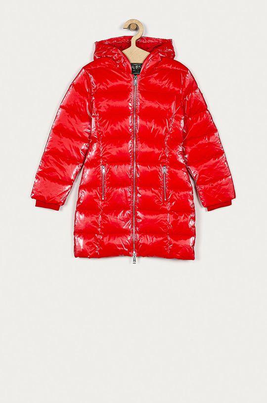 červená Guess Jeans - Dětská bunda 116-176 cm Dívčí
