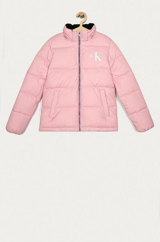 różowy Calvin Klein Jeans - Kurtka dziecięca 104-176 cm Dziewczęcy