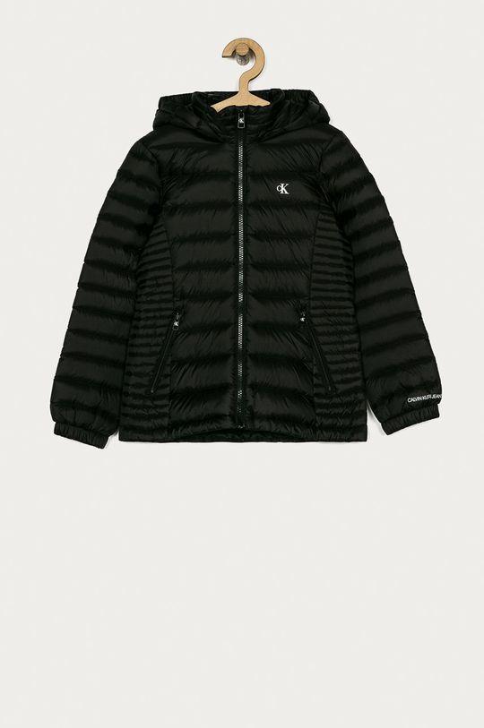 černá Calvin Klein Jeans - Dětská péřová bunda 128-176 cm Dívčí
