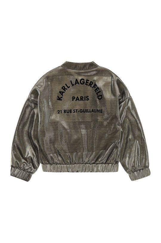 Karl Lagerfeld - Kurtka dziecięca złoty