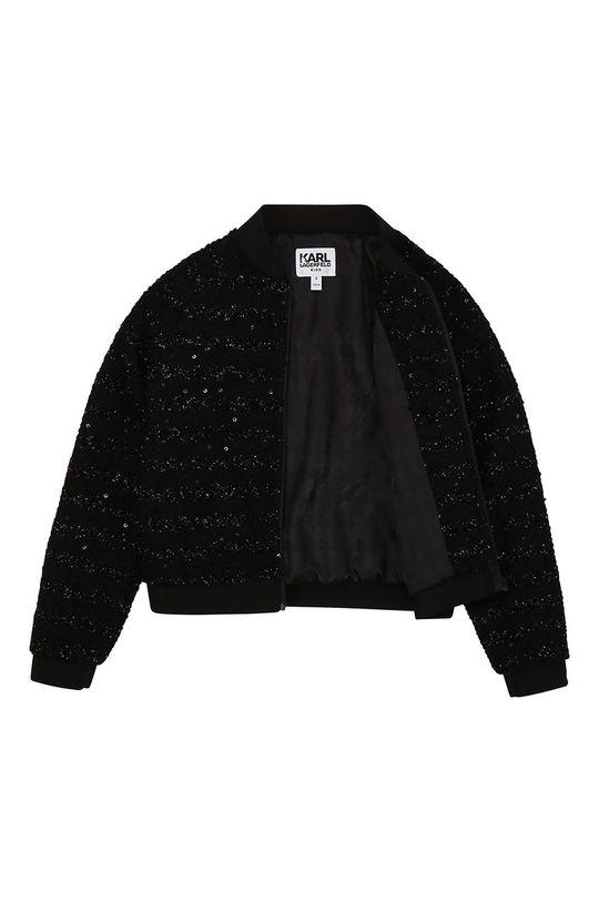 Karl Lagerfeld - Dětská bunda  Podšívka: 53% Polyester, 47% Viskóza Hlavní materiál: 5% Elastan, 95% Polyester