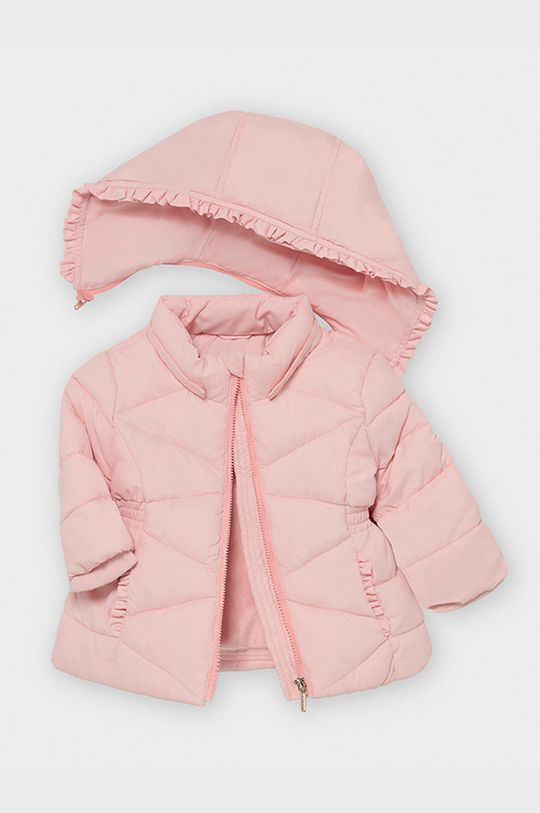 ružová Mayoral - Detská bunda 80-98 cm