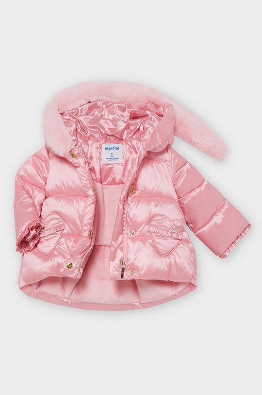 różowy Mayoral - Kurtka dziecięca 68-80 cm
