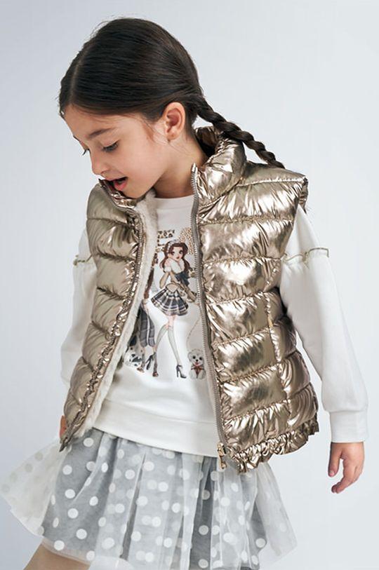 zlatá Mayoral - Detská obojstranná vesta 92-134 cm Dievčenský