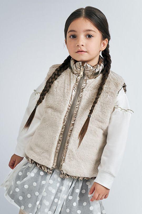 Mayoral - Detská obojstranná vesta 92-134 cm zlatá