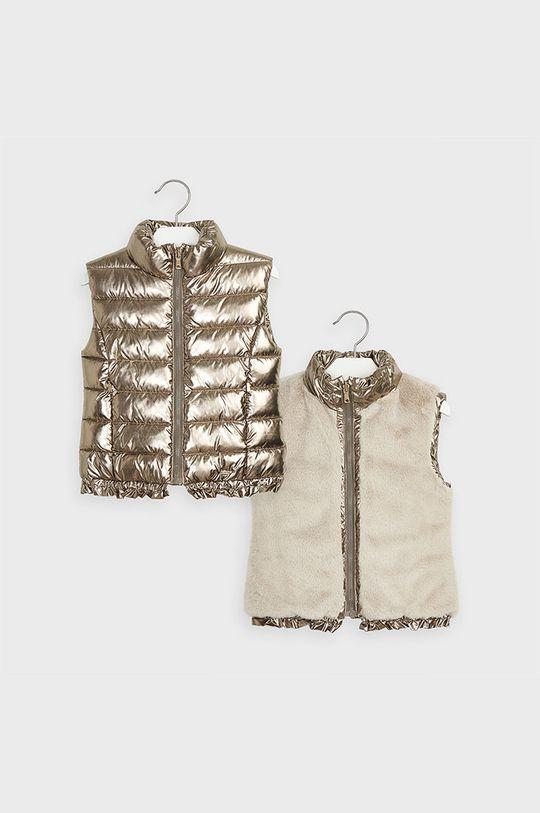 zlatá Mayoral - Detská obojstranná vesta 92-134 cm