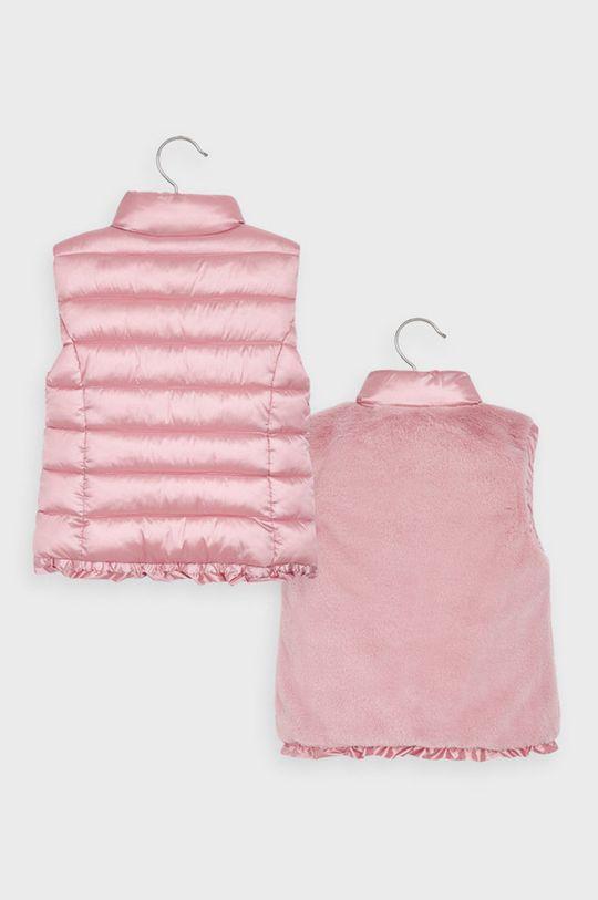 Mayoral - Detská obojstranná vesta 92-134 cm ružová