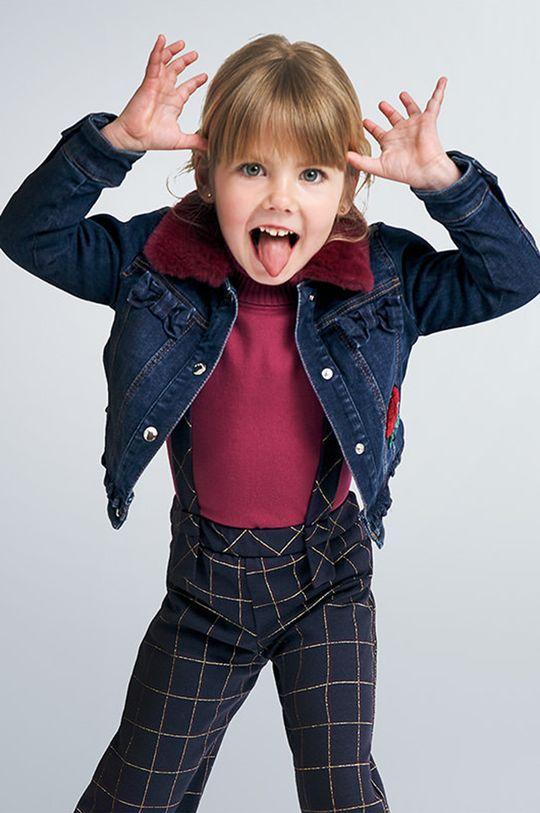 albastru metalizat Mayoral - Geaca de blugi pentru copii 92-134 cm De fete