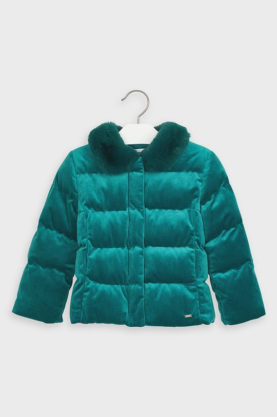Mayoral - Detská bunda 92-134 cm tyrkysová modrá