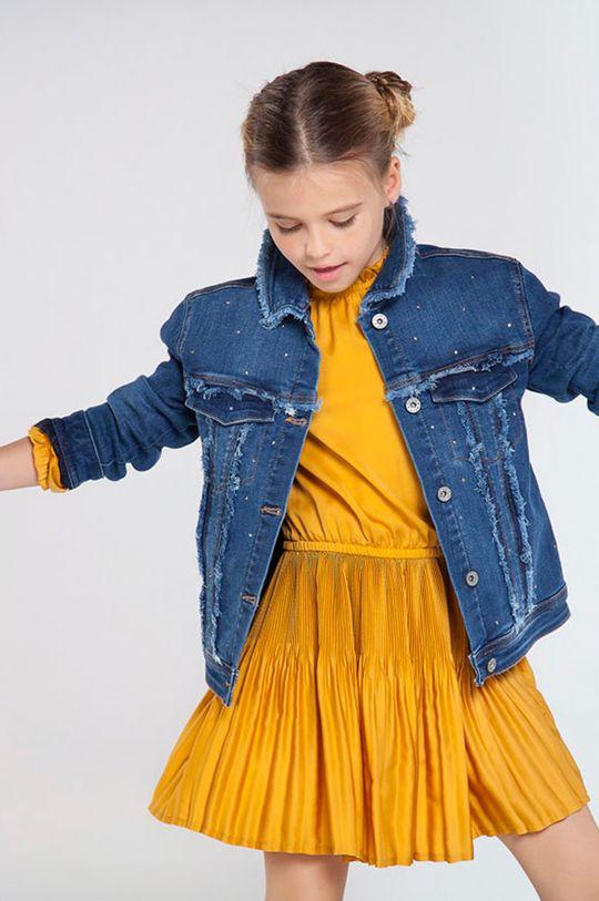 Mayoral - Geaca de blugi pentru copii 128-167 cm albastru