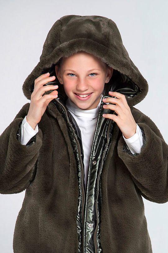 Mayoral - Dětská oboustranná bunda 128-167 cm tmavě zelená