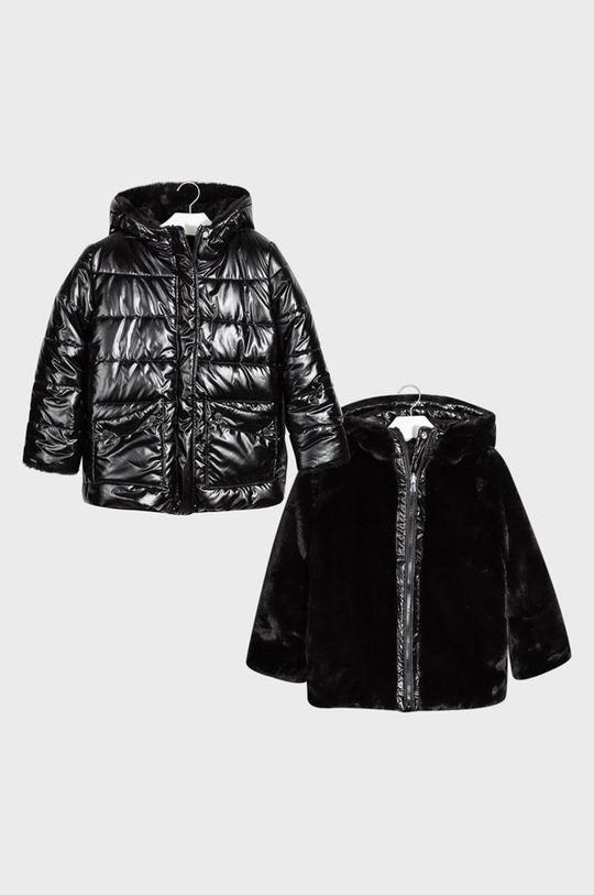 čierna Mayoral - Detská obojstranná bunda 128-167 cm Dievčenský