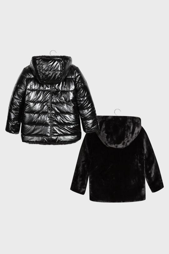 Mayoral - Detská obojstranná bunda 128-167 cm čierna