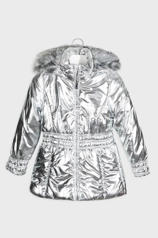 srebrny Mayoral - Kurtka dziecięca 128-167 cm Dziewczęcy