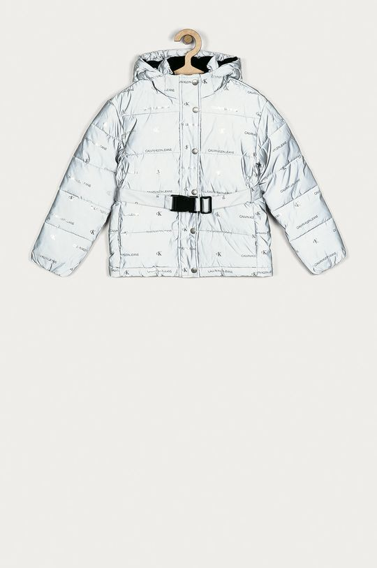 šedá Calvin Klein Jeans - Dětská bunda 128-176 cm Dívčí