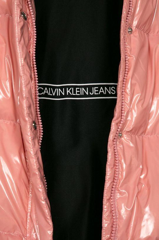 růžová Calvin Klein Jeans - Dětská péřová bunda 140-176 cm