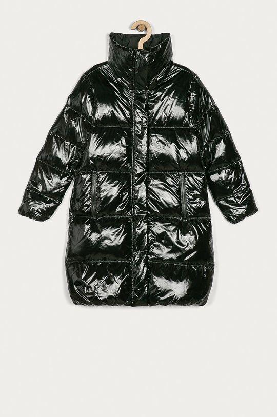 černá Calvin Klein Jeans - Dětská péřová bunda 140-176 cm Dívčí