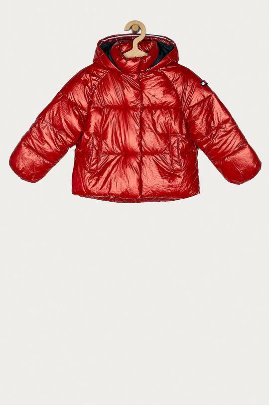 červená Tommy Hilfiger - Dětská bunda 110-176 cm Dívčí