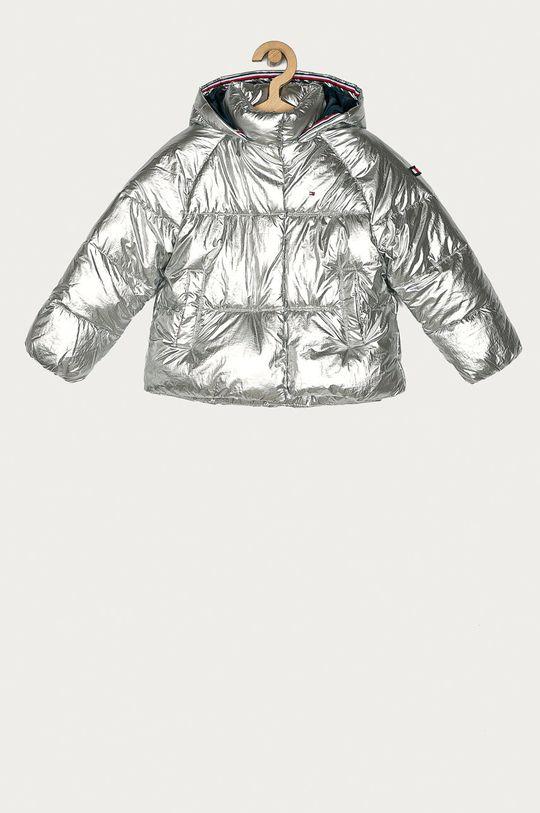stříbrná Tommy Hilfiger - Dětská bunda 110-176 cm Dívčí