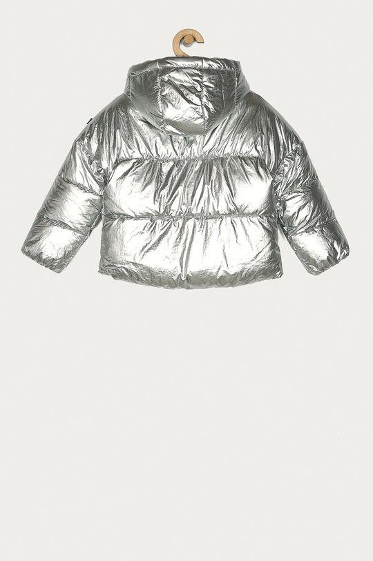 Tommy Hilfiger - Dětská bunda 110-176 cm stříbrná