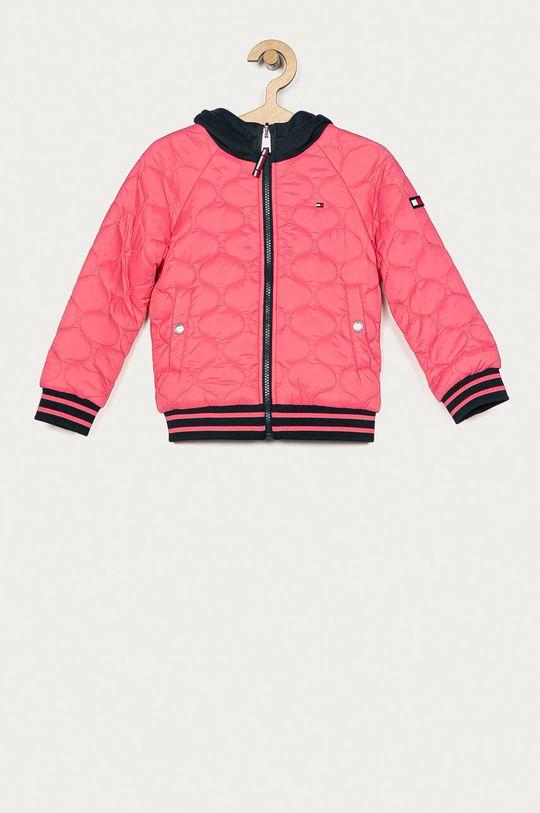 roz Tommy Hilfiger - Geaca reversibila pentru copii 110-176 cm De fete