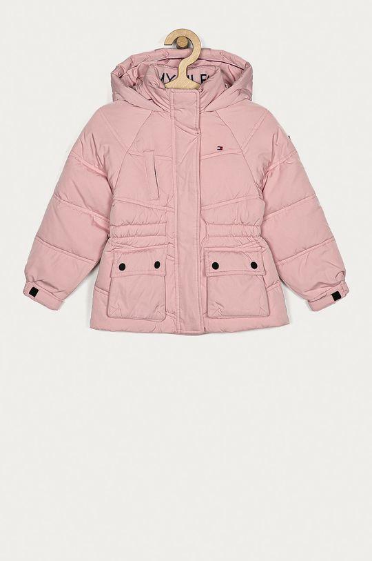 pastelowy różowy Tommy Hilfiger - Kurtka dziecięca 98-152 cm Dziewczęcy