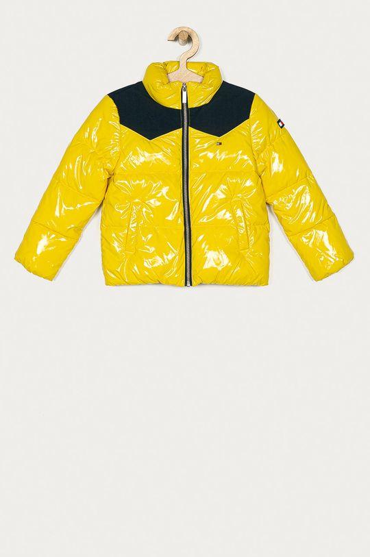 žlutá Tommy Hilfiger - Dětská bunda 128-176 cm Dívčí