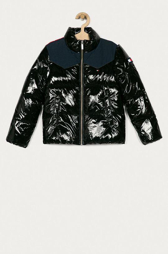 černá Tommy Hilfiger - Dětská bunda 128-176 cm Dívčí