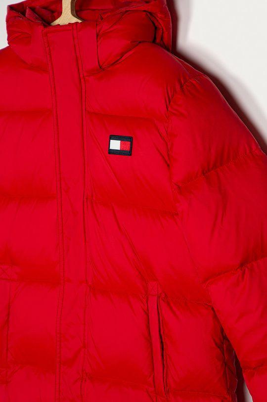 Tommy Hilfiger - Geaca de puf pentru copii 140-176 cm rosu