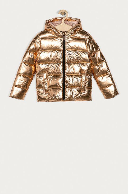 zlatá Roxy - Dětská bunda 128-176 cm Dívčí