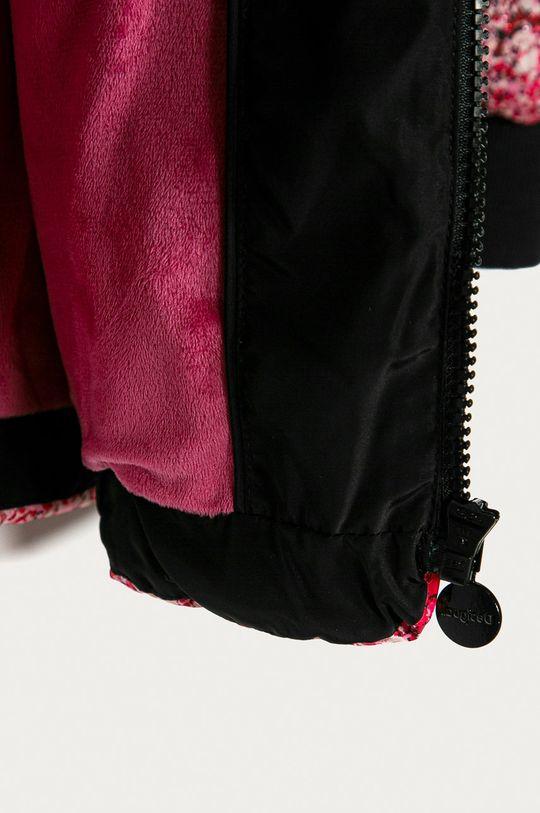 černá Desigual - Dětská bunda 104-164 cm