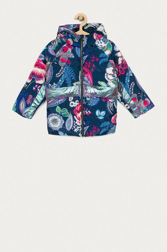 námořnická modř Desigual - Dětská bunda Dívčí