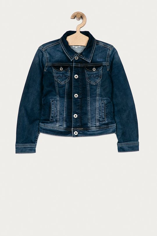 albastru Pepe Jeans - Geaca de blugi pentru copii New Berry 128-180 cm De fete