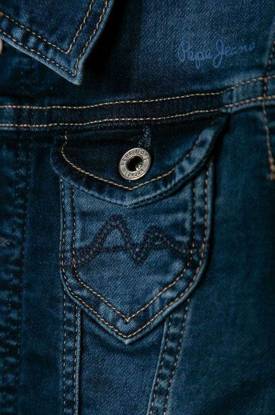 Pepe Jeans - Geaca de blugi pentru copii New Berry 128-180 cm  72% Bumbac, 2% Elastan, 12% Poliester , 14% Viscoza