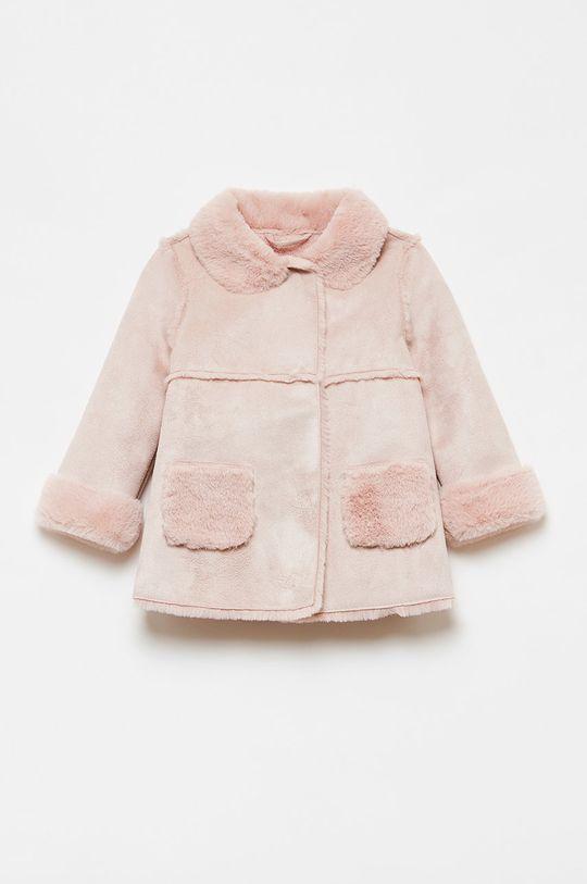 růžová OVS - Dětský kabát 74-98 cm Dívčí