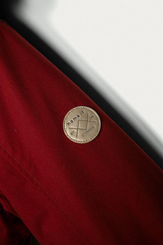 červená Name it - Dětská bunda 128-164 cm