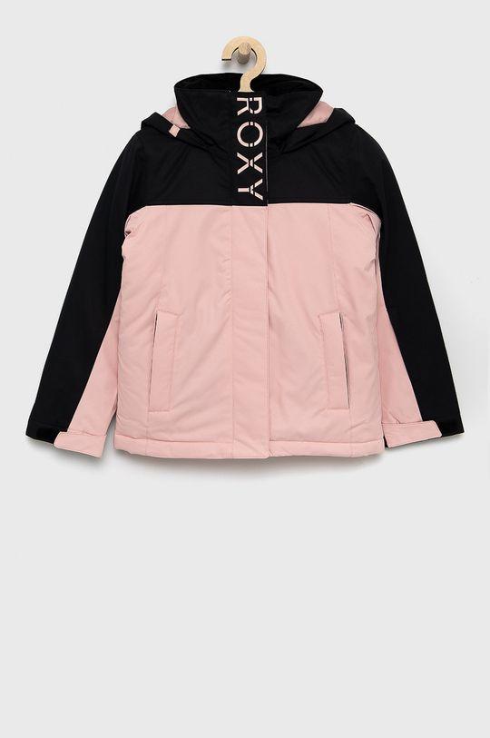 pastelowy różowy Roxy - Kurtka dziecięca 128-164 cm Dziewczęcy