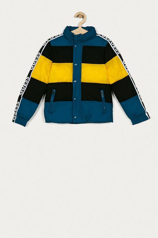 turkusowy Guess Jeans - Kurtka dziecięca 116-175 cm Dziecięcy