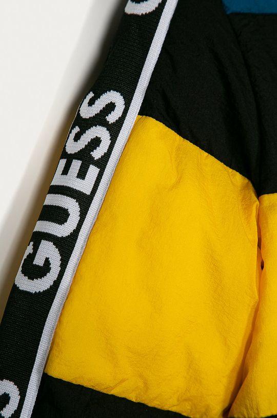 Guess Jeans - Kurtka dziecięca 116-175 cm turkusowy