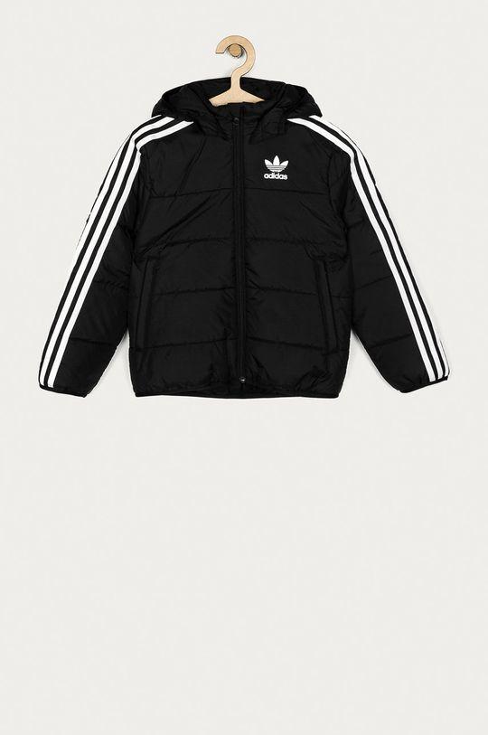 čierna adidas Originals - Detská bunda 128-176 cm Detský
