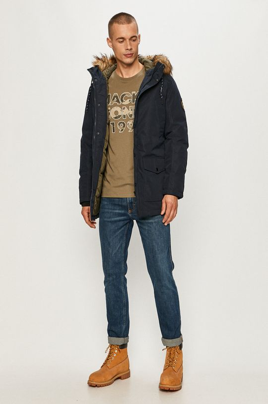 Jack & Jones - Hanorac bleumarin