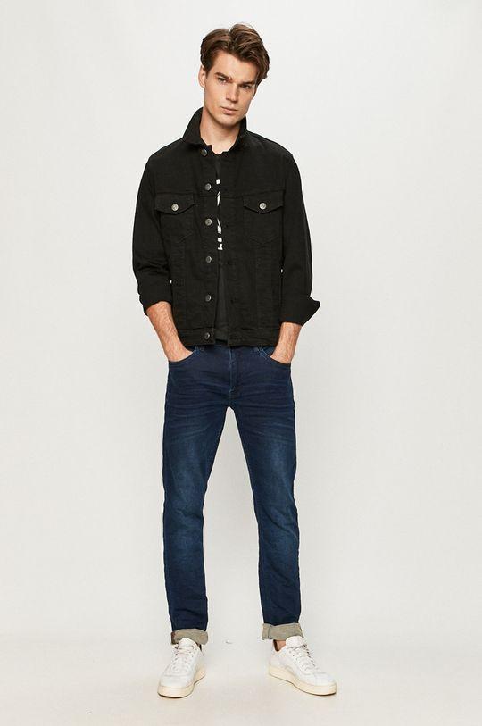 Jack & Jones - Geaca jeans negru