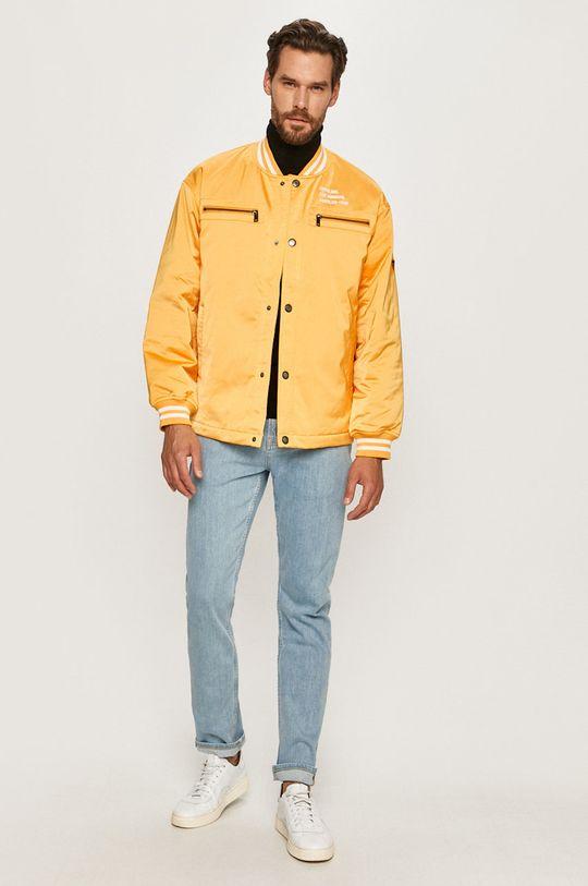 Guess Jeans - Kurtka żółty