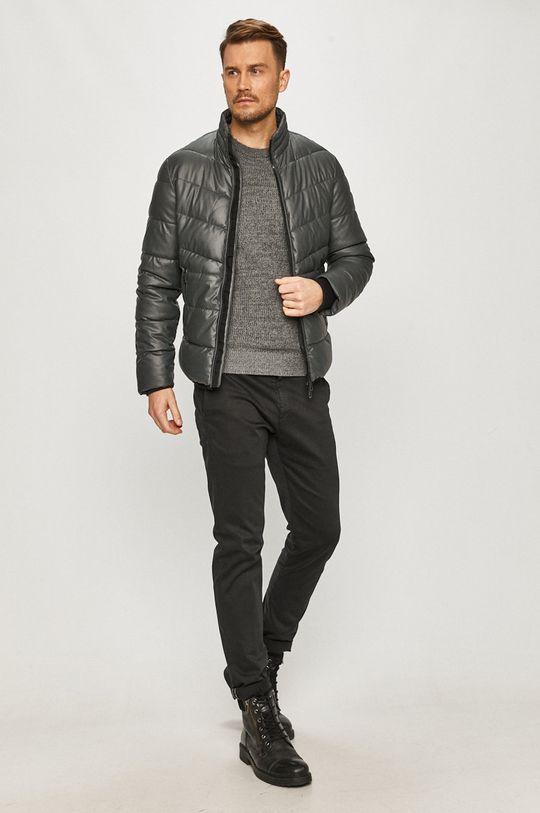 Guess Jeans - Bunda šedá