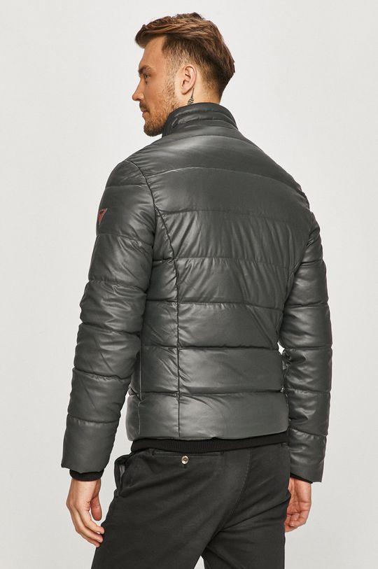 Guess Jeans - Bunda  Podšívka: 92% Polyester, 8% Spandex Výplň: 100% Polyester Hlavní materiál: 100% Polyuretan
