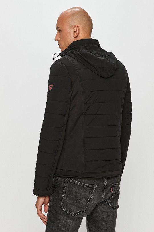 černá Guess Jeans - Oboustranná bunda