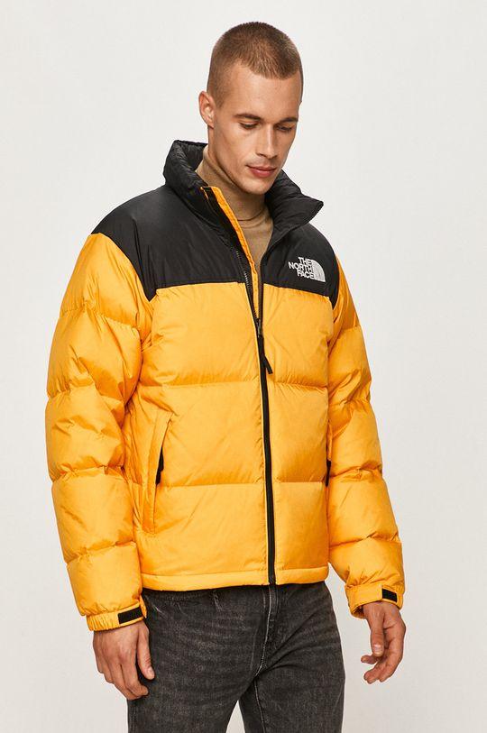 oranžová The North Face - Páperová bunda Pánsky