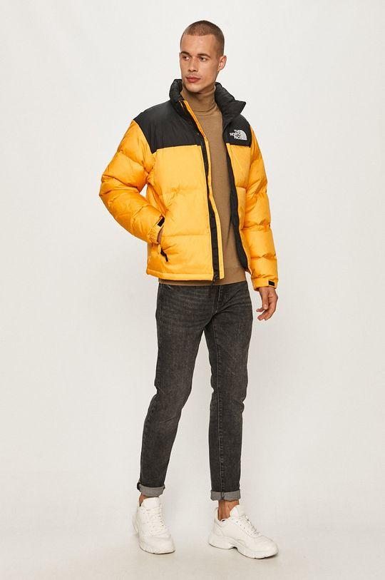 The North Face - Páperová bunda oranžová